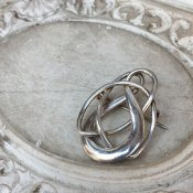 Art Nouveau Silver Brooch(アール・ヌーヴォー シルバー ブローチ)