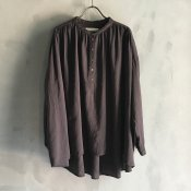 ikkuna/suzuki takayuki pullover blouse(イクナ/スズキタカユキ プルオーバー ブラウス)Charcoal Gray