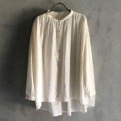 ikkuna/suzuki takayuki pullover blouse(イクナ/スズキタカユキ プルオーバー ブラウス)Nude