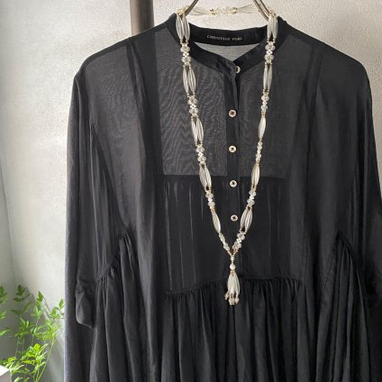 1960's Lucite Tassel Necklace( 1960年代 ルーサイト タッセル ネックレス)