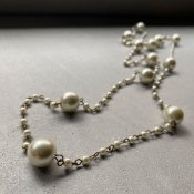 1930's Pearl Beads Long Necklace( 1930年代 パールビーズ ロング ネックレス)