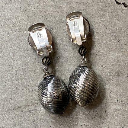 1920-30's French Mercury Glass Earrings(1920〜30年代 フランス マーキュリーガラスイヤリング)