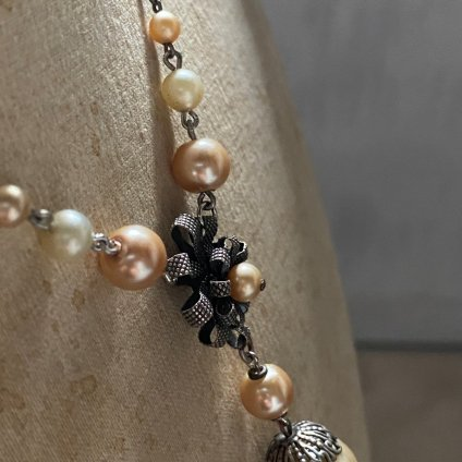<img class='new_mark_img1' src='https://img.shop-pro.jp/img/new/icons13.gif' style='border:none;display:inline;margin:0px;padding:0px;width:auto;' />1930's Louis Rousselet Pearl Necklace( 1930年代 ルイ ロスレー パールネックレス)