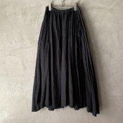 <img class='new_mark_img1' src='https://img.shop-pro.jp/img/new/icons13.gif' style='border:none;display:inline;margin:0px;padding:0px;width:auto;' />【予約販売】suzuki takayuki long skirt�(スズキタカユキ ロングスカート�)Black