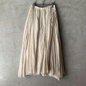 <img class='new_mark_img1' src='https://img.shop-pro.jp/img/new/icons13.gif' style='border:none;display:inline;margin:0px;padding:0px;width:auto;' />【予約販売】suzuki takayuki long skirt�(スズキタカユキ ロングスカート�)Beige