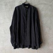 <img class='new_mark_img1' src='https://img.shop-pro.jp/img/new/icons13.gif' style='border:none;display:inline;margin:0px;padding:0px;width:auto;' />【予約販売】suzuki takayuki flared blouse(スズキタカユキ フレアドブラウス)Black