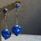 1930's Peking Glass Earrings( 1930年代  ペキンガラス イヤリング)
