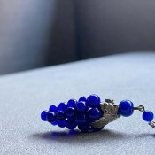 1920's Louis Rousselet Blue Glass Necklace( 1920年代 ルイ ロスレー ブルーガラス ネックレス)