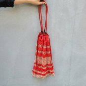 CHRISTIAN PEAU BEACH BAG(クリスチャン ポー ビーチバッグ ) RED