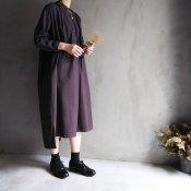 <img class='new_mark_img1' src='https://img.shop-pro.jp/img/new/icons13.gif' style='border:none;display:inline;margin:0px;padding:0px;width:auto;' />ikkuna/suzuki takayuki kurta dress (イクナ/スズキタカユキ クルタドレス)charcoal gray