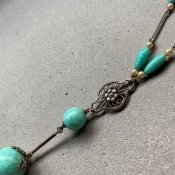 1930's Louis Rousselet Glass Necklace(1930年代 ルイ ロスレー ガラス ネックレス)