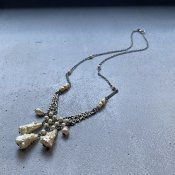 1920's Louis Rousselet Glass Pearl Necklace( 1920年代 ルイ ロスレー ガラス パール ネックレス)