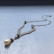 1930's Louis Rousselet Glass Pearl Necklace( 1930年代 ルイ ロスレー ガラス パール ネックレス)