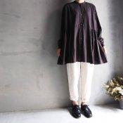 ikkuna/suzuki takayuki over blouse(イクナ/スズキタカユキ オーバー ブラウス)Charcoal Gray