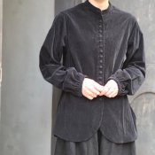 HALLELUJAH 11, Victorian Chemise(ハレルヤ ヴィクトリアシャツ)Black