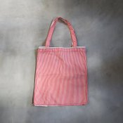 CHRISTIAN PEAU CP COTTON BAG(クリスチャン ポー コットンバッグ) DOTS AND STRIPES  WHAITE