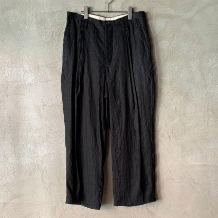 suzuki takayuki  wide legged pants�(スズキタカユキ ワイドレッグドパンツ�)Black/Unisex