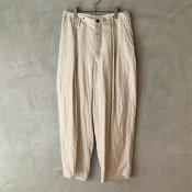 suzuki takayuki  wide legged pants�(スズキタカユキ ワイドレッグドパンツ�)Nude/Unisex