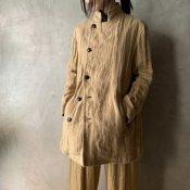 suzuki takayuki pea coat(スズキタカユキ ピーコート)Beige/Unisex
