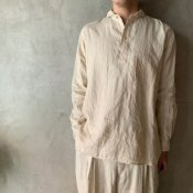 suzuki takayuki one-piece shawl collar pullover(スズキタカユキ ワンピースショールカラープルオーバー)Nude/Unisex
