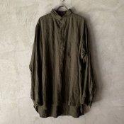 suzuki takayuki one-piece shawl collar pullover(スズキタカユキ ワンピースショールカラープルオーバー)Khaki/Unisex