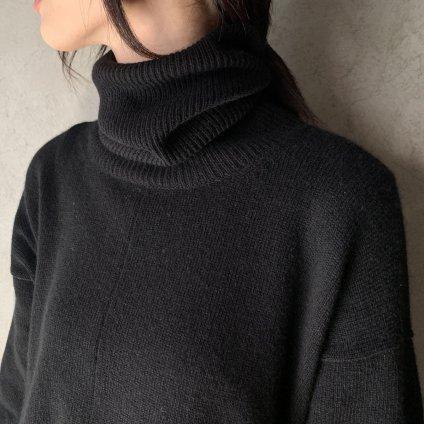suzuki takayuki turtle-neck sweater�(スズキタカユキ タートルネックセーター�)Black