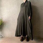 suzuki takayuki peasant dress(スズキタカユキ ペザントドレス)Khaki