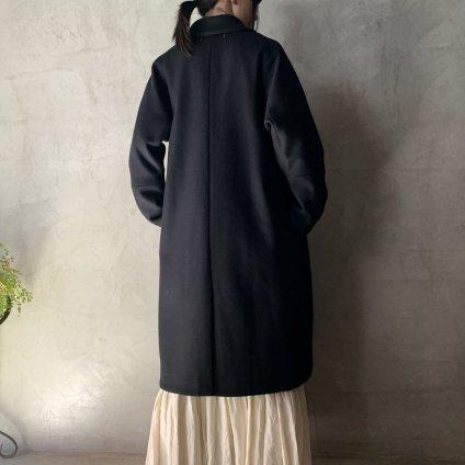 suzuki takayuki tailored-collar coat(スズキタカユキ テーラードカラーコート)Black