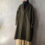 <img class='new_mark_img1' src='https://img.shop-pro.jp/img/new/icons13.gif' style='border:none;display:inline;margin:0px;padding:0px;width:auto;' />suzuki takayuki tailored-collar coat(スズキタカユキ テーラードカラーコート)Khaki