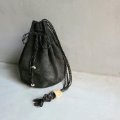 CHRISTIAN PEAU CP BALL BAG HAND(クリスチャン ポー ボールバッグ)GOAT leahter G. GRAY