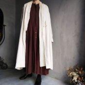 ikkuna/suzuki takayuki shawl-collar coat(イクナ/スズキタカユキ ショールカラーコート)Nude