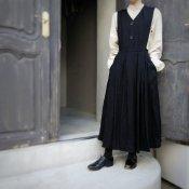 HALLELUJAH , 2 Robe La Petite Gardeuse d'oies(ハレルヤ ガチョウ番の少女 ローブ)Black