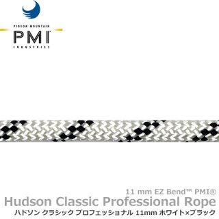 PMI ハドソン クラシック プロフェッショナル 11mm 100m ホワイト×ブラック