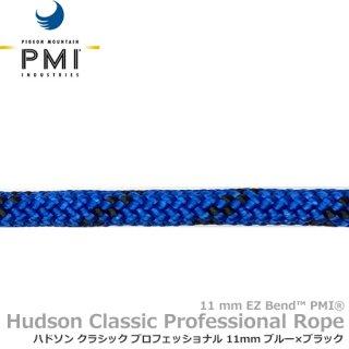 PMI ハドソン クラシック プロフェッショナル 11mm 100m ブルー×ブラック