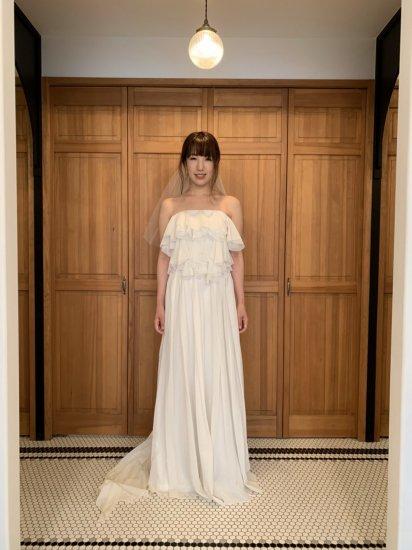 ボリュームフリルセパレートドレス