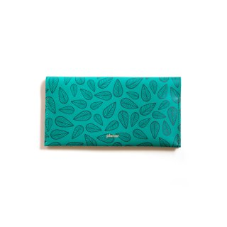 Wallet L / Leaves Green