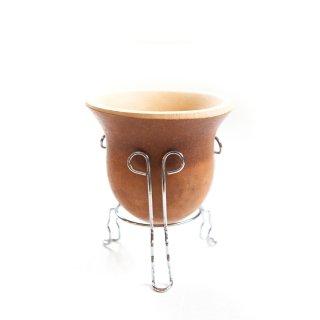 マテ壺 -瓢箪 スタンド付き
