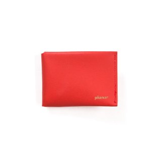 Wallet M -Red Plain-