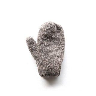 フェアトレード/手袋 ミトンタイプ / ライトブラウン
