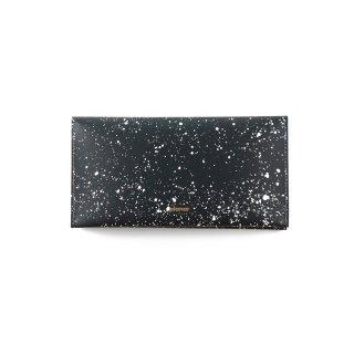 Wallet L -Cosmos black & white-