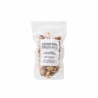 Grilled Nuts ミックスナッツ / from farm / メープルシロップ&はっさく 180g