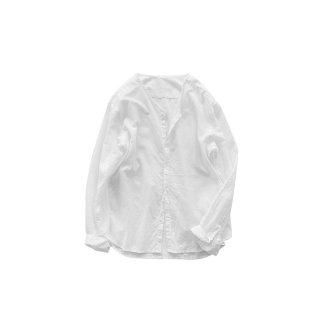 jiji / Vネックシャツ  / WHITE