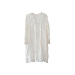 jiji /手織りシルクの羽織 / ECRU