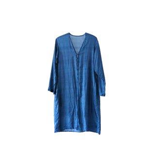 jiji /手織りシルクの羽織 / INDIGO