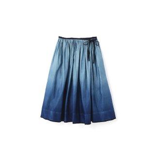 quitan / Wrap Skirt / INDIGO