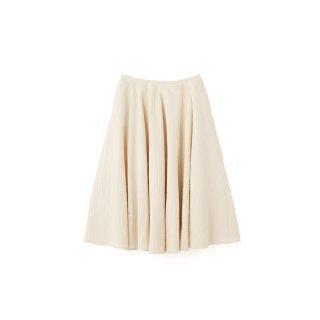 quitan / Circuler Skirt - Pique de Provence / ECRU