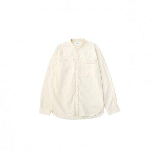 quitan / Double Stand Collar Shirt / ECRU