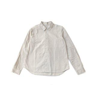 <一部ご予約>jiji / レギュラーカラーシャツ / Sand