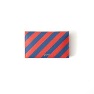 Wallet P -Red and Blue Stripes-