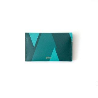 Wallet P -Green Tones-